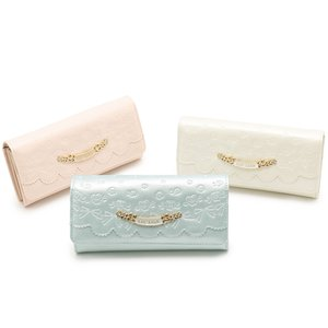 LIZ LISA Embossed Enamel Wallet