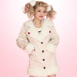 J-Fashion / Coats / Swankiss Sailor Mouton Coat
