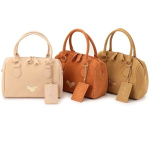 LIZ LISA Suede Boston Bag