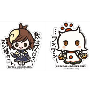 Stationery / Stickers / Capcom x B-Side Label Megami Meguri Stickers