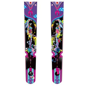 tokone Pop'n Purple: Youth White Paper Knee-High Tights