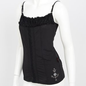Ozz Oneste Rose Embroidered Camisole