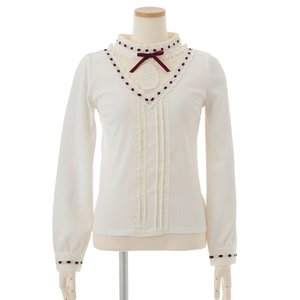 LIZ LISA Stand Collar Blouse