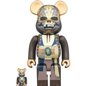 BE@RBRICK Jack Sparrow 100% & 400% - Pirates of the Caribbean: Dead Men Tell No Tales Ver.