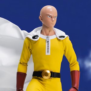 Figures & Dolls / Action Figures / Scale Figures / One-Punch Man Saitama 1/6 Scale Articulated Figure