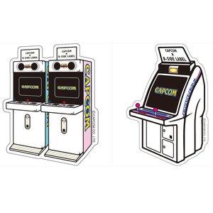 Stationery / Stickers / Capcom x B-Side Label Arcade Machine Stickers