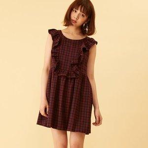 J-Fashion / Dresses / Honey Salon Mini Ruffled Dress