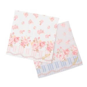 LIZ LISA Piano Rose Handkerchief