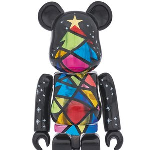 Toys & Knick-Knacks / Collectable Toys / 2016 Xmas BE@RBRICK 100% Stained Glass Tree