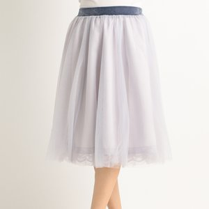 LIZ LISA Tulle Midi Skirt