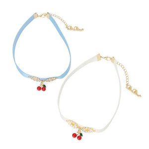 LIZ LISA Cherry Choker