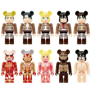 Attack on Titan BE@RBRICK 100% Blind Box Set