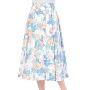 LIZ LISA Flowers & Fruit Flared Skirt