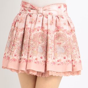 LIZ LISA Raspberry Pattern Sukapan Skirt