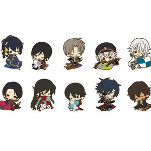Touken Ranbu -Online- Rubber Strap Collection Relax Ver. Box Set