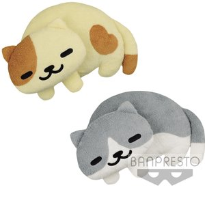 Neko Atsume Funwari Plush Cushions