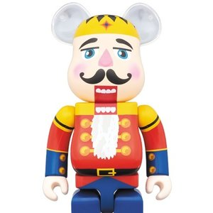 BE@RBRICK DRx-Mas Nutcracker 1000%