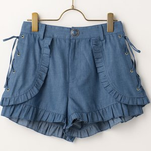 LIZ LISA Dungaree Shorts