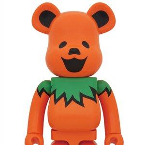 BE@RBRICK Grateful Dead Dancing Bear: Orange Ver. 1000%