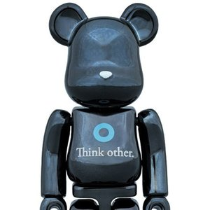 BE@RBRICK I Am Other Black Ver. 100%