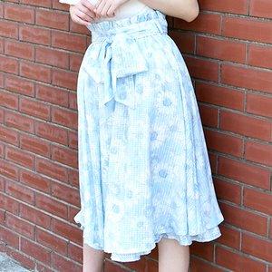 LIZ LISA Pastel Flower Skirt