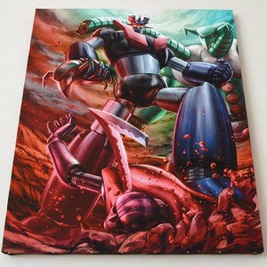 Art Prints / Art Canvas Boards / Mazinger Z Charafine Graph Print (Size: F15)