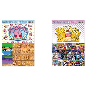 Stationery / Stickers / Kirby's Dream Land Sticker Sheets