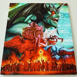 Art Prints / Art Canvas Boards / Devilman Charafine Graph Print (Size: F15)