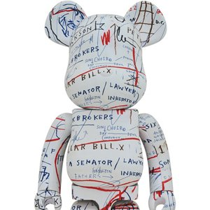 BE@RBRICK Jean-Michel Basquiat Vol. 2 1000%