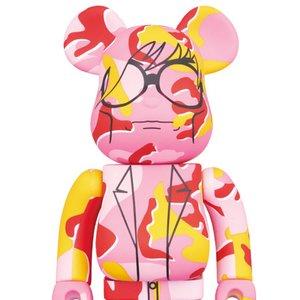 BE@RBRICK Andy Warhol Camo Ver. 1000%