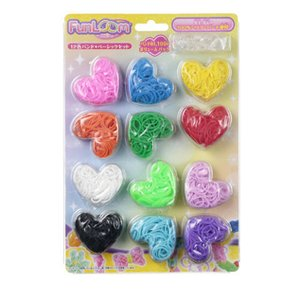 Toys & Knick-Knacks / Collectable Toys / FunLoom 12-Color Rubber Band Set