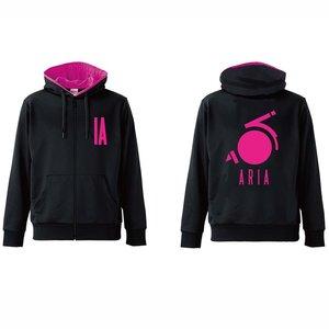 IA Pink Font Hoodie