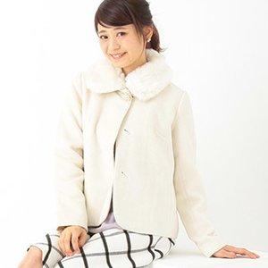 J-Fashion / Coats / earth music&ecology Fur Tippet Coat