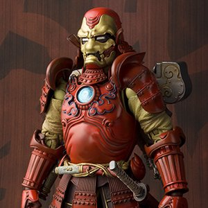 Figures & Dolls / Action Figures / Scale Figures / Meisho Manga Realization Iron Man Samurai Iron Man Mark III