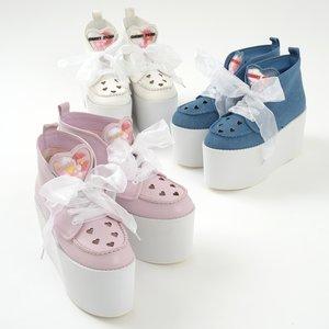 J-Fashion / Shoes / Swankiss Picnic Platform Sneakers
