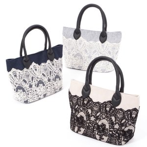 FLAPPER Classical Lace Mini Tote