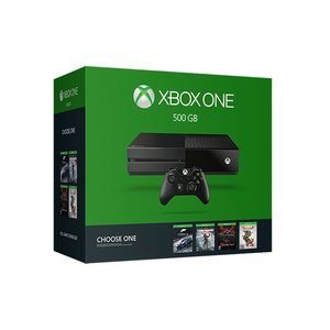 Gaming / Gaming Consoles / Microsoft Xbox One 500GB Name Your Game Bundle