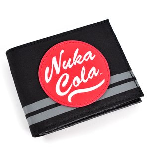 Otaku Apparel & Cosplay / Bags & Wallets / Fallout Nuka Cola Canvas Bi-Fold Wallet