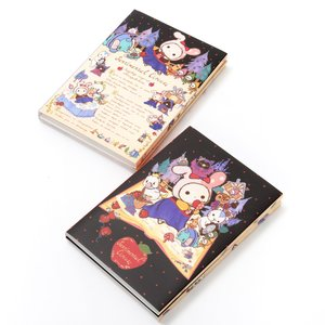 Stationery / Notebooks & Memo Pads / Sentimental Circus Snow White Patchwork Apples Big Flipbook Memo Pads