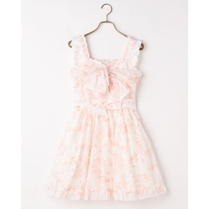 LIZ LISA Ribbon Pattern Dress