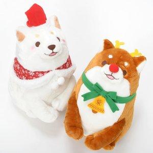 Plushies / Big Plushies / Chuken Mochi Shiba Christmas Big Plush Collection