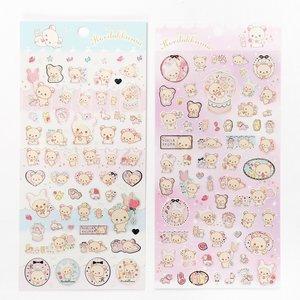 Stationery / Stickers / Rilakkuma Sweet Dream of Korilakkuma Stickers