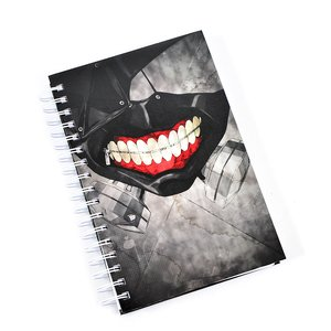 Stationery / Notebooks & Memo Pads / Tokyo Ghoul Kaneki's Mask Hardcover Notebook