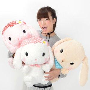 Plushies / Big Plushies / Pote Usa Loppy Zukin Rabbit Plush Collection (Big)