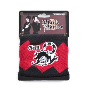 Otaku Apparel & Cosplay / Other Accessories / Black Butler 2 Grell Wristband