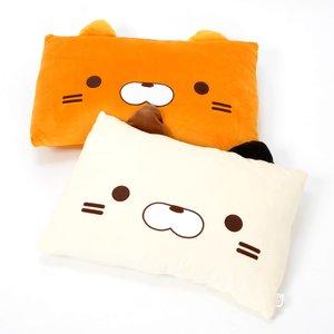 Home & Kitchen / Cushions / Sasurai no Tabineco Marshmallow Square Cushions