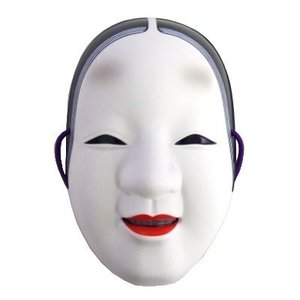Otaku Apparel & Cosplay / Cosplay Props / Woman's Noh Mask