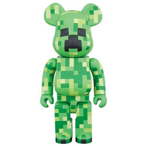 Toys & Knick-Knacks / Collectable Toys / BE@RBRICK 400% Minecraft Creeper