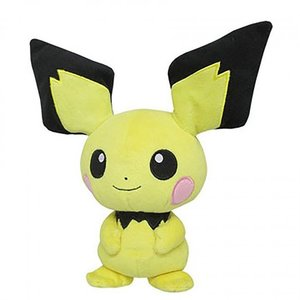 "Plushies / Medium Plushies / Pokémon 8"" Pichu Plush"