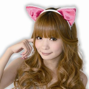 Otaku Apparel & Cosplay / Cosplay Props / Fuwa-Fuwa Cat Ear Headband (Front Ears)
